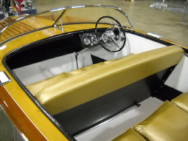 1955 Chris Craft Capri's Interior restored to original to the extent possible