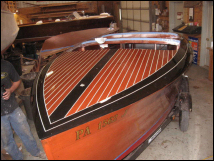 antique boat refinishing